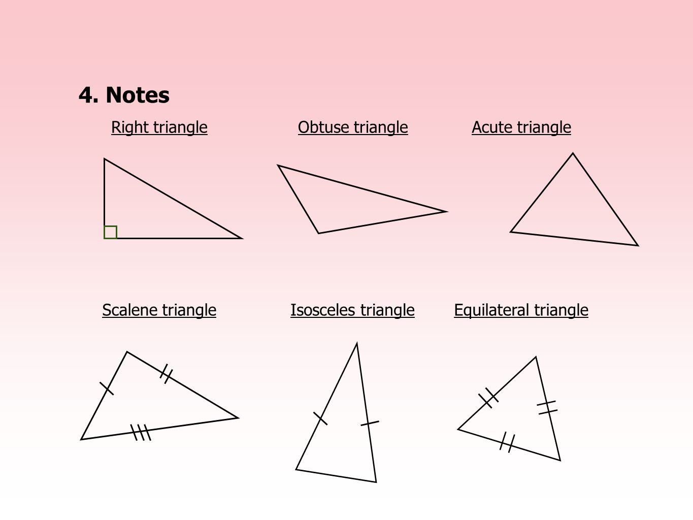 1 5 Triangles And Special Quadrilaterals