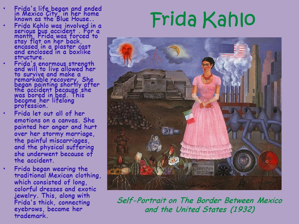 Kahlo Mexico House City Frida