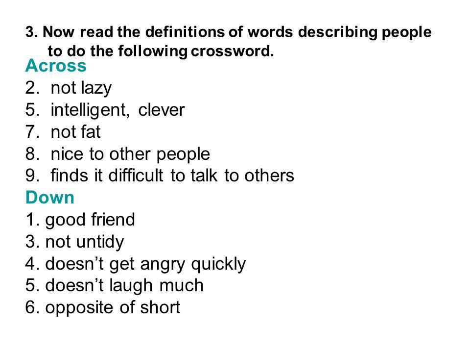Opposite Laugh Crossword Clue