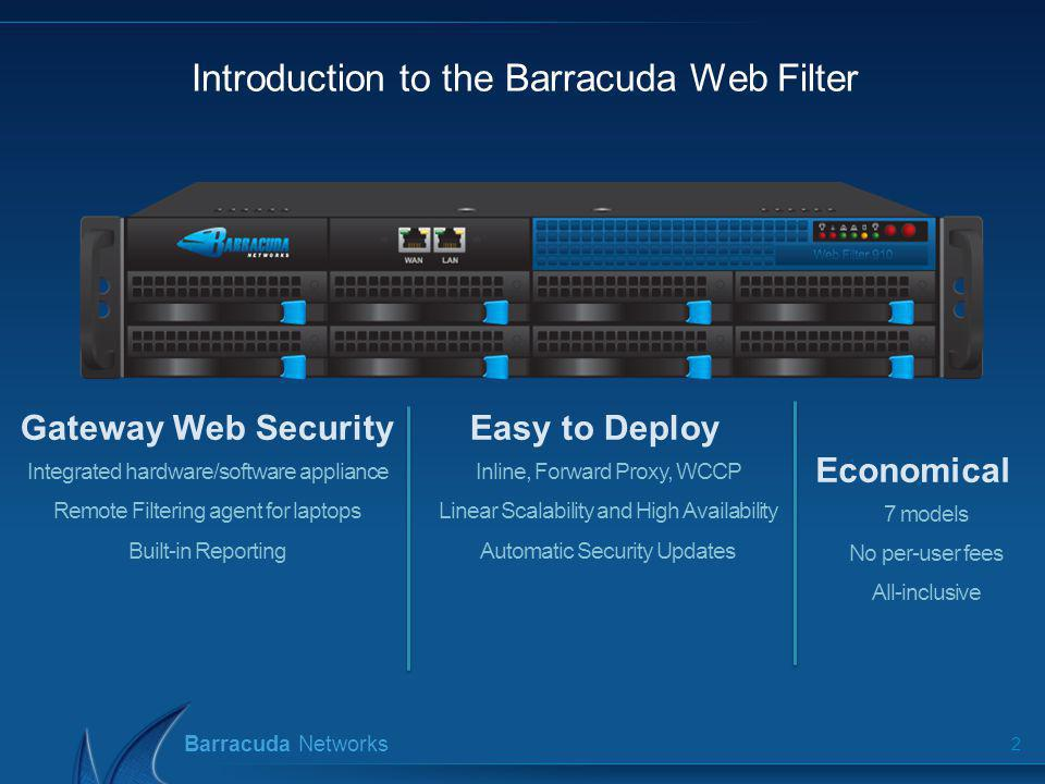 Web Security Gateway Barracuda