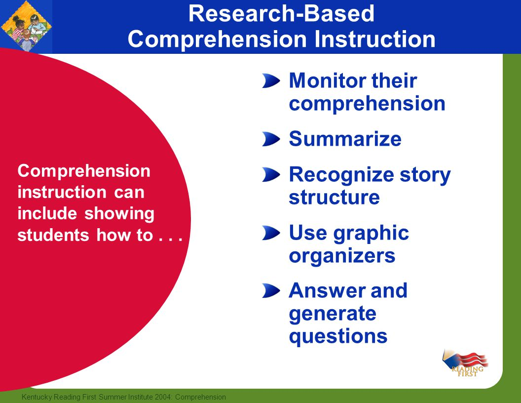 Comprehension Part I Book Knowledge Part Ii Reading Comprehension Strategies This Publication