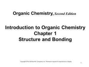 Chapter 1 Structure & Bonding  ppt video online download
