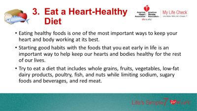 Keeping Your Heart Healthy With Life's Simple 7 - ppt ...