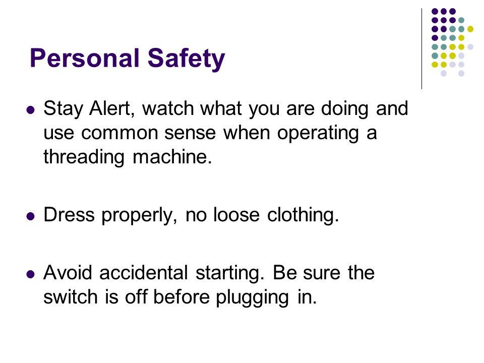 Personal Security Alert
