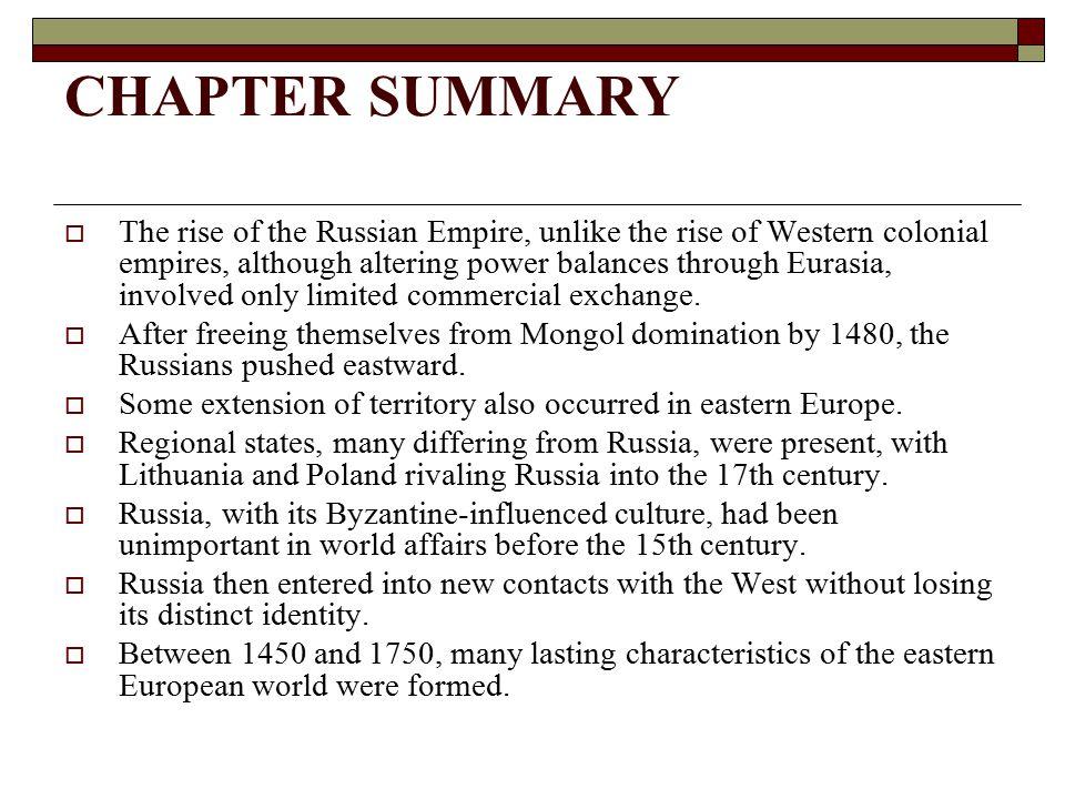 Mongol Effect Russia