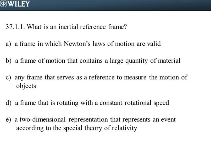 Inertial Frame Of Reference Physics Classroom | Frameswalls.org