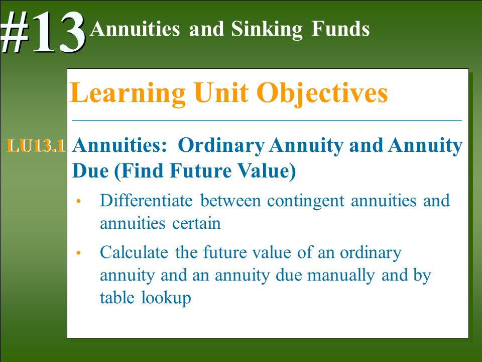 Image Result For Future Value Of Annuitya