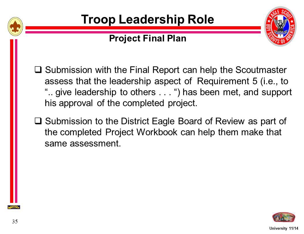 Eagle Scout Service Project Fundamentals