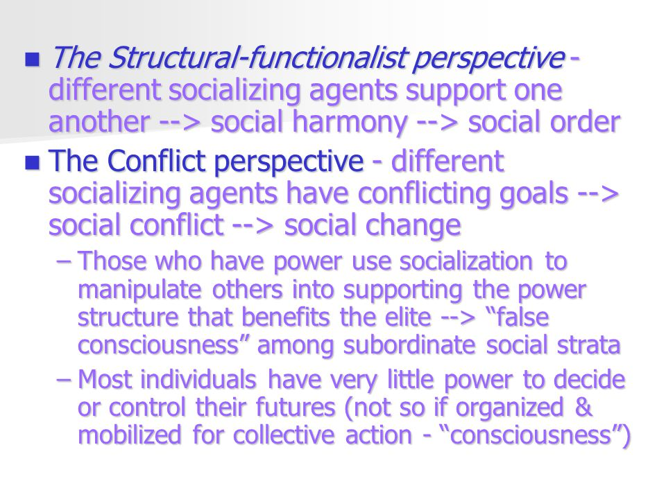 agents of socialization sociology