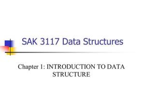Data Structure Introduction  ppt video online download