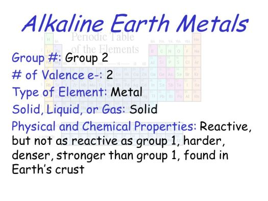 Group 2 periodic table characteristics periodic diagrams science 6 alkaline earth metals group 2 periodic table properties ppt online urtaz