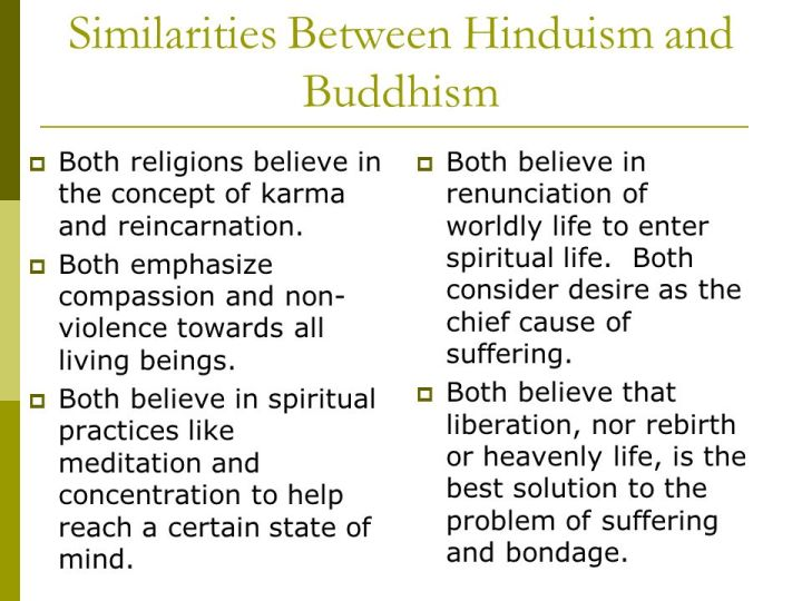 compare and contrast hinduism and buddhism essays Free essay on buddhism vs hinduism,  hinduism and buddhism both have numerous gods and both follow the same paths to ultimately achieve  compare .