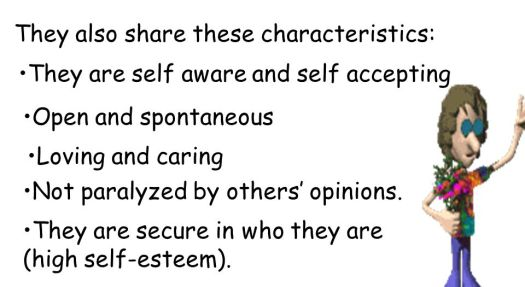 7 Common Characteristics Of High Self-esteem