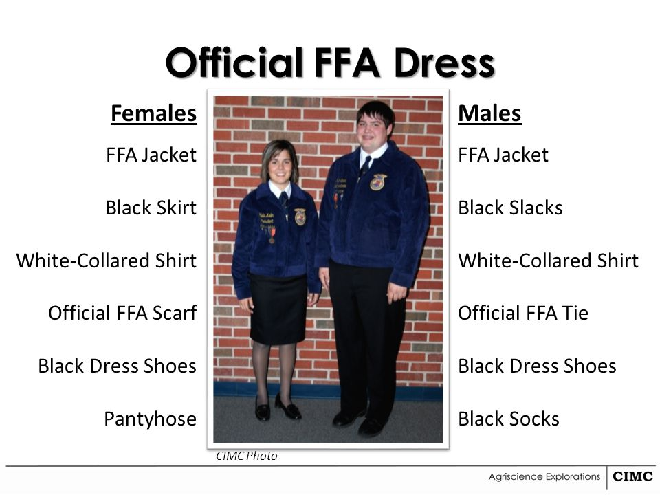 Ffa Official Dress Labeled