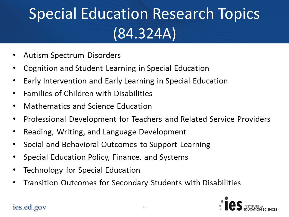 thesis topics for science education