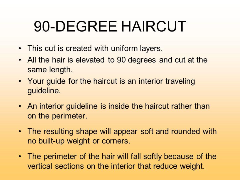 90 Degree State Board Haircut
