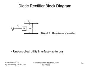 Chapter 5 LineFrequency Diode Rectifiers  ppt video