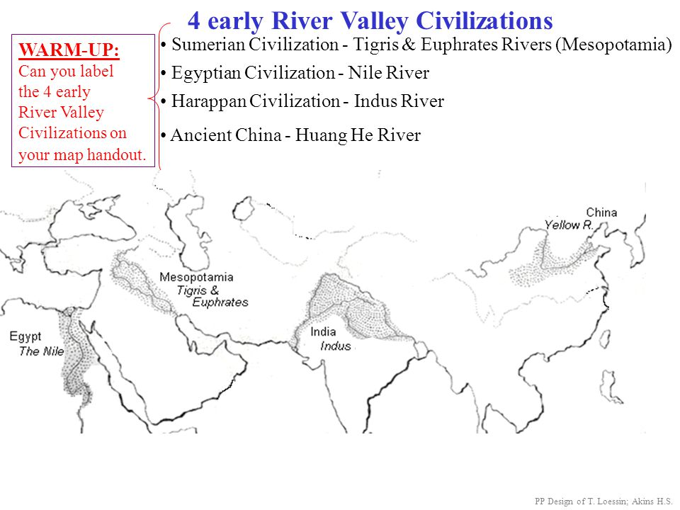 Ancient India Map Outline Worksheet