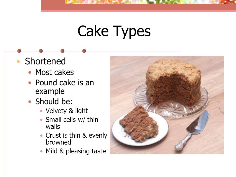 Types Cakes And How Make Them