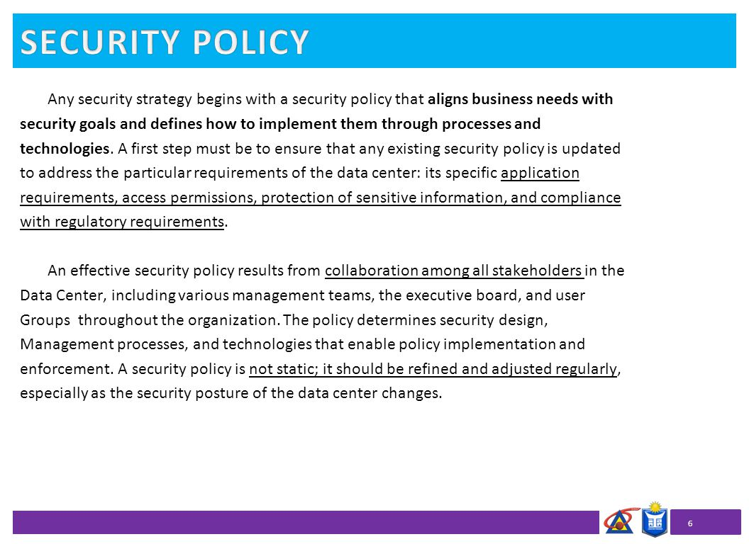 What Policy Security