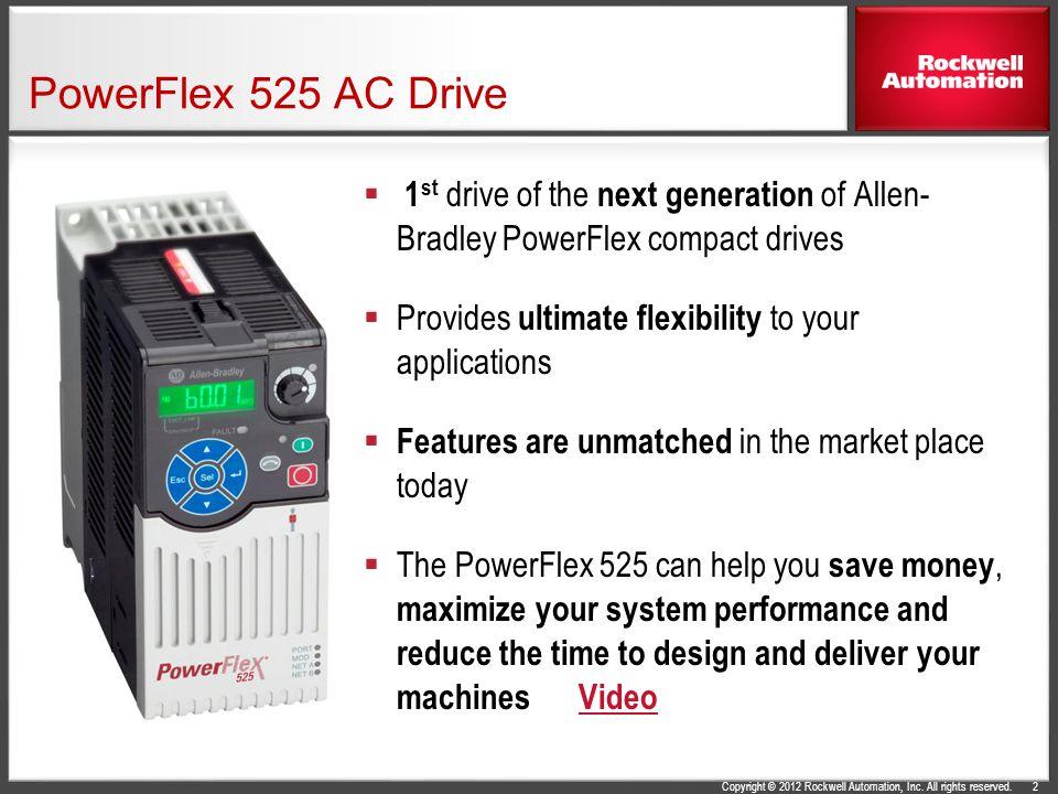 Allen Bradley Powerflex 523 Manuals