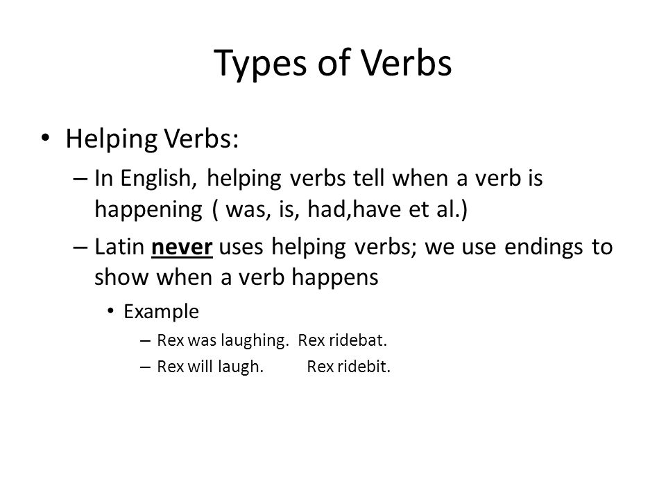 Laugh All Verb Forms