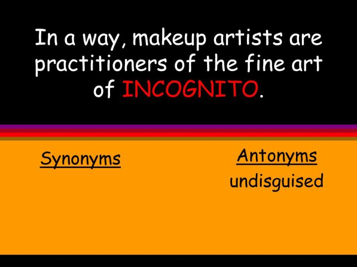 Makeup Artist Synonym | Makeupview co