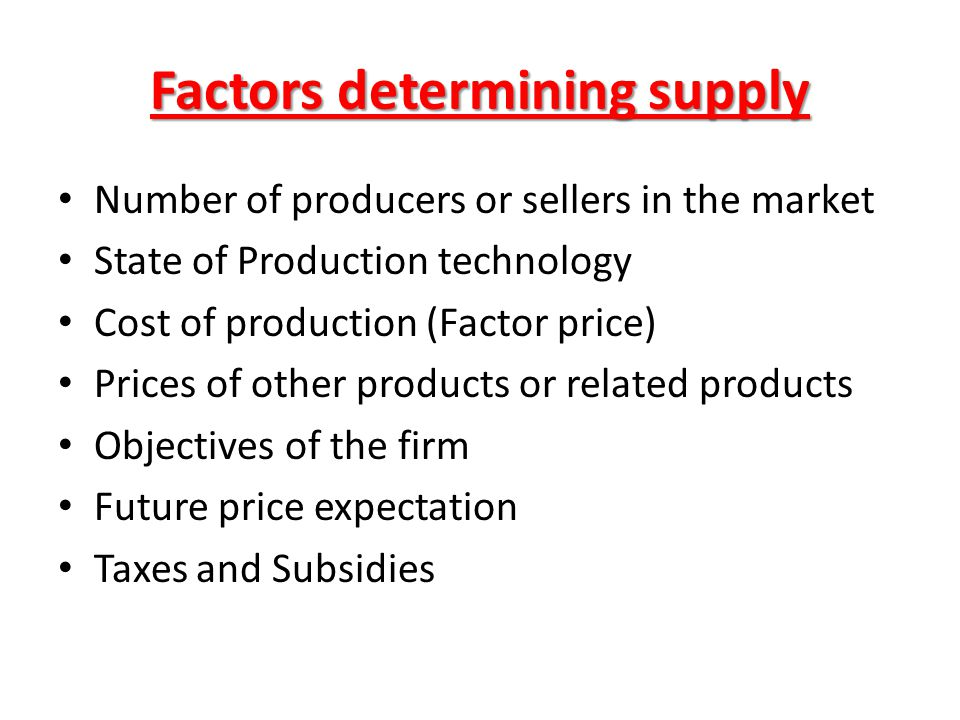 state and explain the factors of production