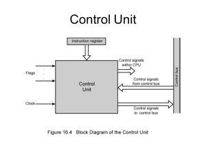 UNITIII CONTROL UNIT DESIGN  ppt video online download