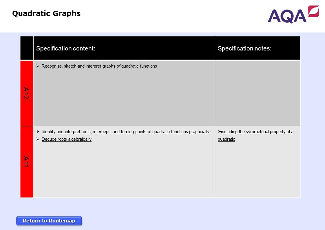 Gcse Mathematics 3 Year Foundation Tier Routemap Specification