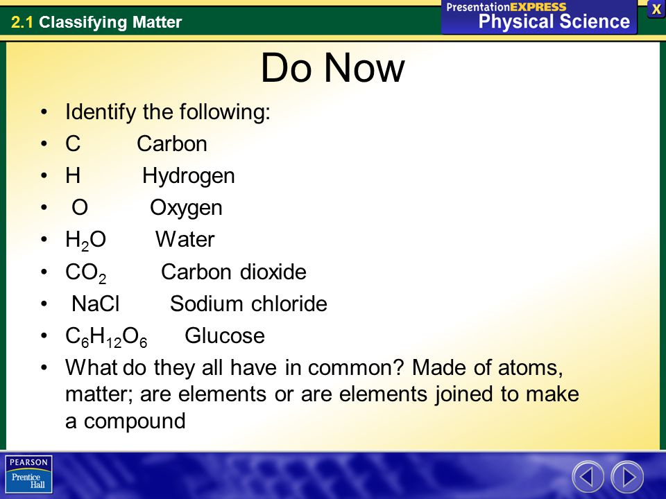 What Are Used How Are Changes And Substance And Physical They Chemical