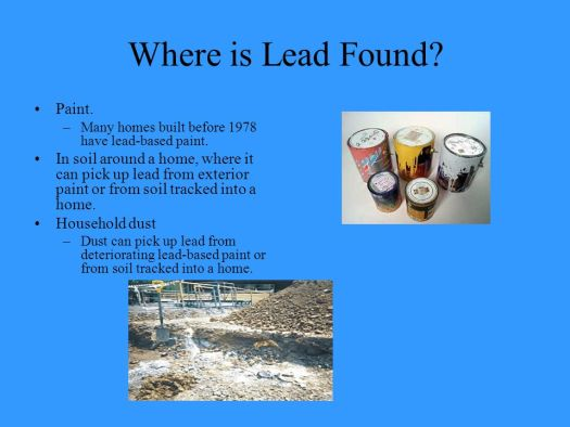 Where Is Lead Found Paint Many Homes Built Before 1978 Have Based