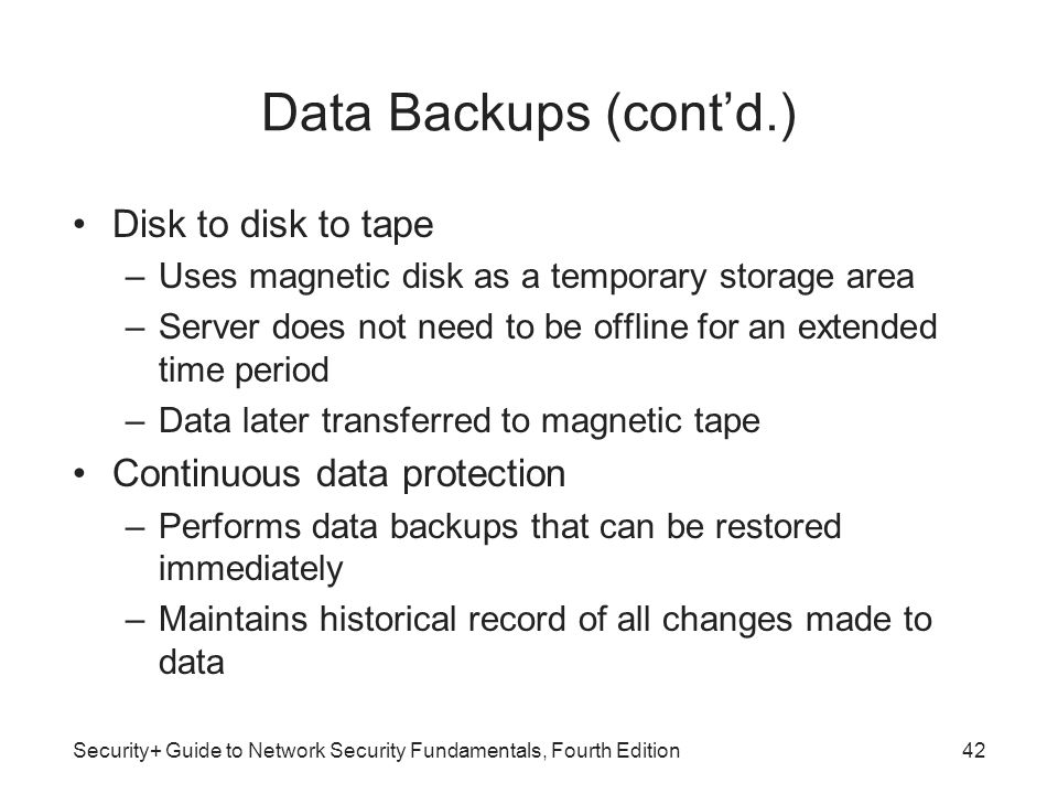 Database Security Basics