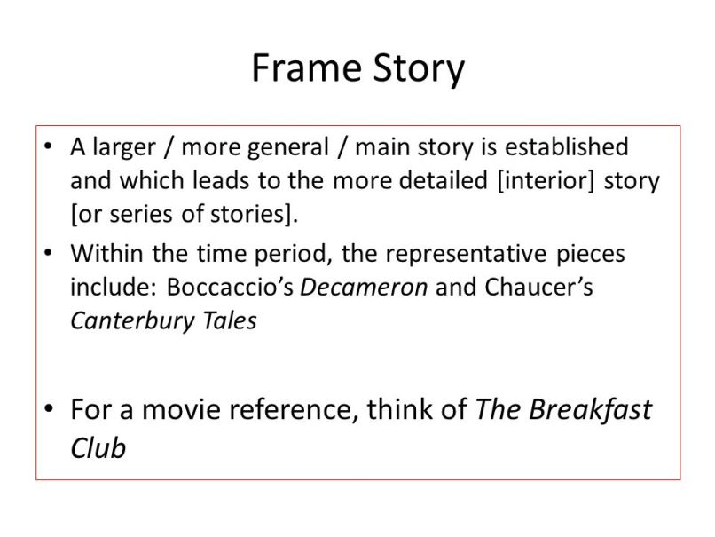A Frame Story Definition | Frameswalls.org