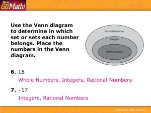 Classifying Rational Numbers  ppt video online download