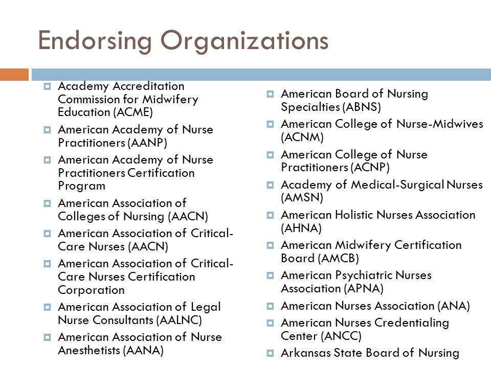 Ana Medical Surgical Certification