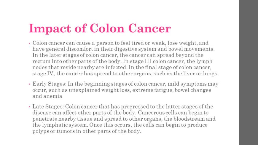 Colon Cancer Spread To Liver