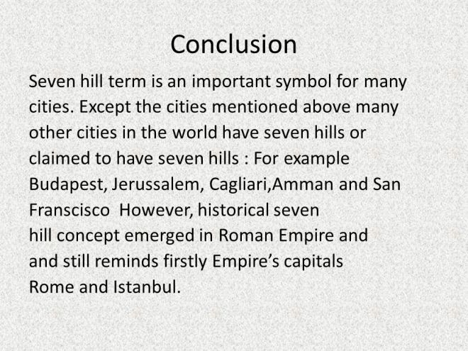 Image result for seven hills cities