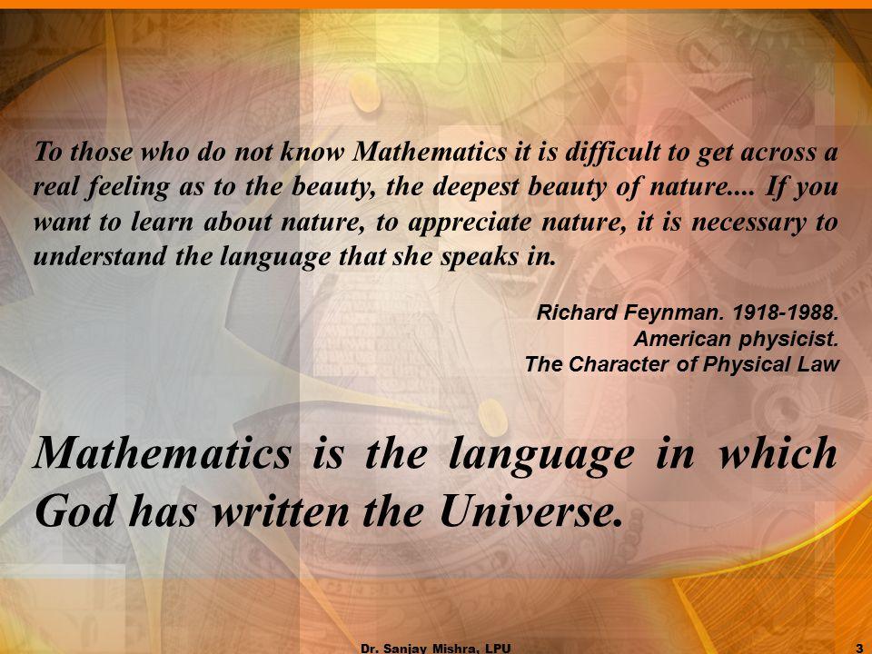 Image result for maths language of God