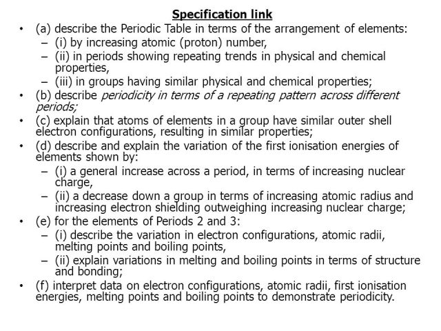 Who arranged the periodic table according to increasing atomic as chemistry unit 1 module 3 the periodic table ppt urtaz Images