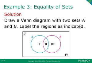 What You Will Learn Venn Diagram with Three Sets  ppt