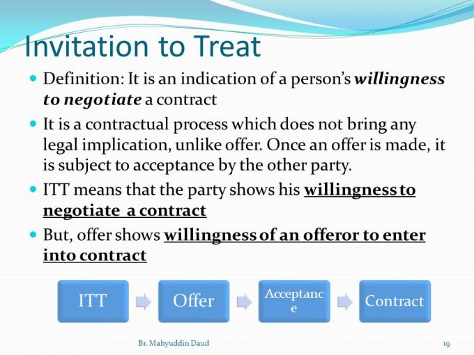 Invitation to treat contract law dulahotw what is invitation to treat in business law image wallpaper hd stopboris Choice Image