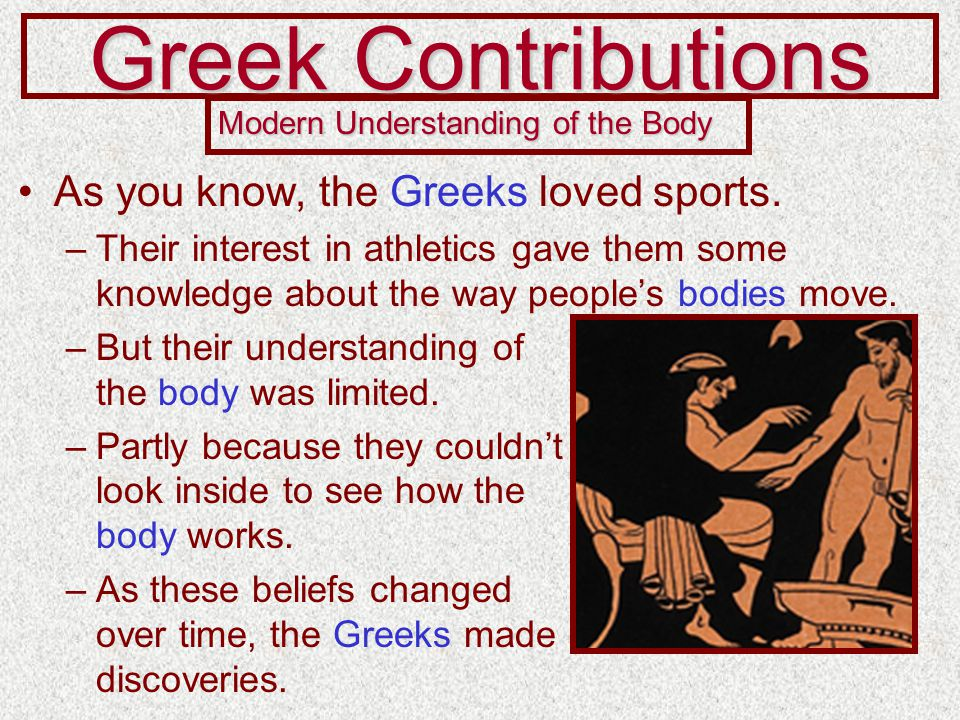 Greek Modern Parts Body Understanding