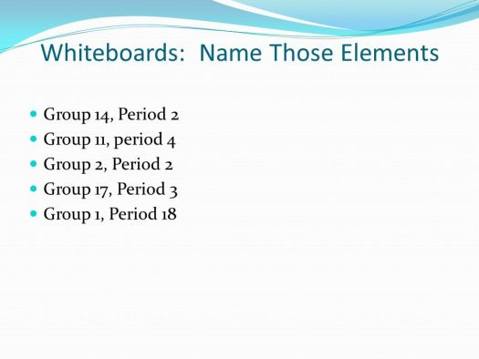 Periodic table group 14 period 2 periodic diagrams science 16 whiteboards name those elements group 14 period 2 families on the periodic table ppt urtaz Gallery