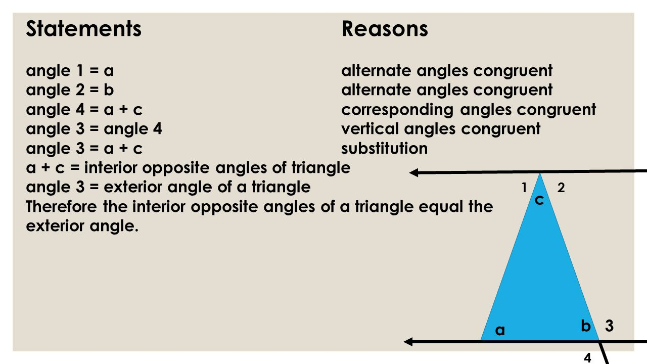 Angles Vertical Triangles Two