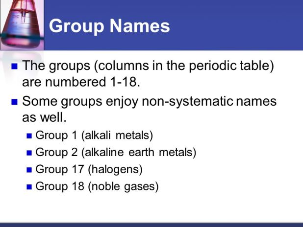 Periodic table group names 1 18 brokeasshome periodic table name of group 2 image collections urtaz Choice Image