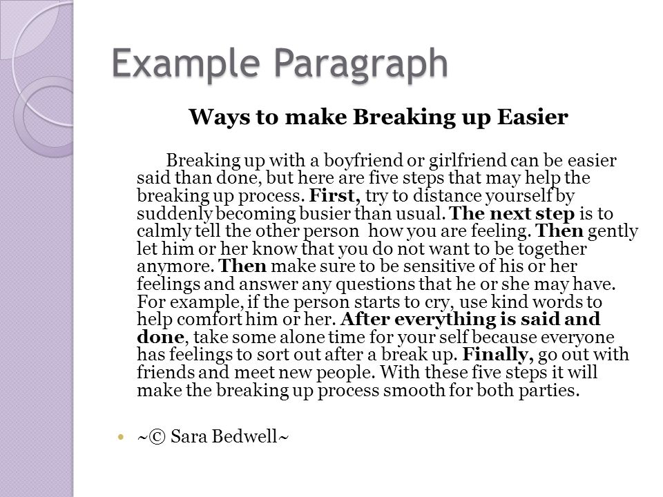 I Love You Paragraphs Him