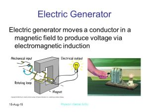 Chapter 25 Electromagic Induction  ppt video online download