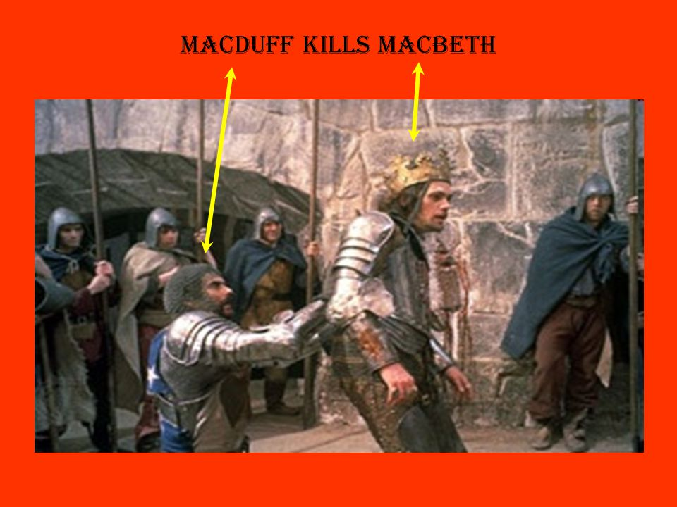 Risultati immagini per macduff kills macbeth