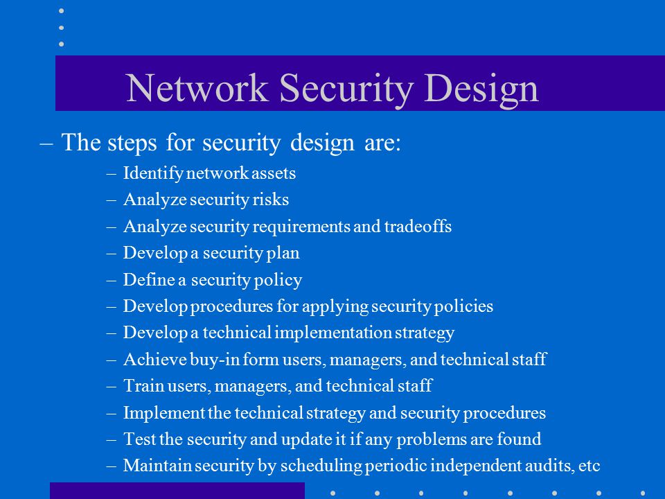 Technical Security Definition